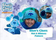 Ravelry: Blue's Clues Hat & Mittens pattern by Belinda Too