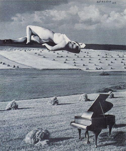 Karel Teige, Collage, 1947