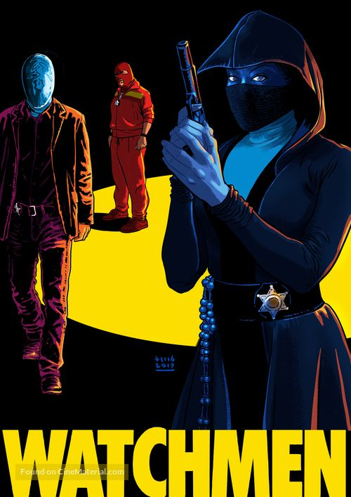Watchmen 2019 Movie Poster Watchmen Hbo Watchmen Comic Book Superheroes