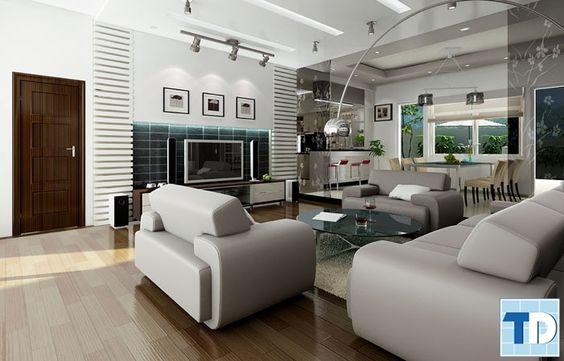 Nội thất chung cư hiện đại