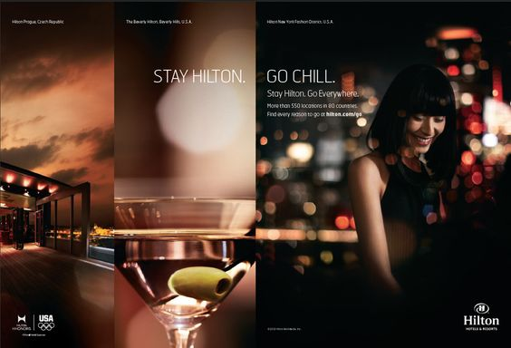 hotel ad campaigns   New advertising campaign from Hilton Hotels & Resorts showcases global ...