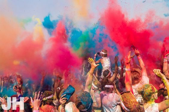 The Color Run - Oct. 6, 2012 - Des Moines, Iowa. Making it our first race ever!