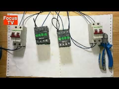How To Control Wiring And Power Wring Of Manual Transfer Switch With Sel Transfer Switch Power Switch