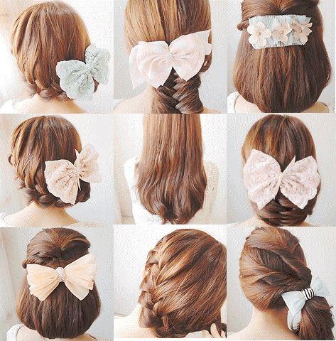Enjoyable Beautiful Korean Hairstyles And Thick Hair On Pinterest Short Hairstyles For Black Women Fulllsitofus
