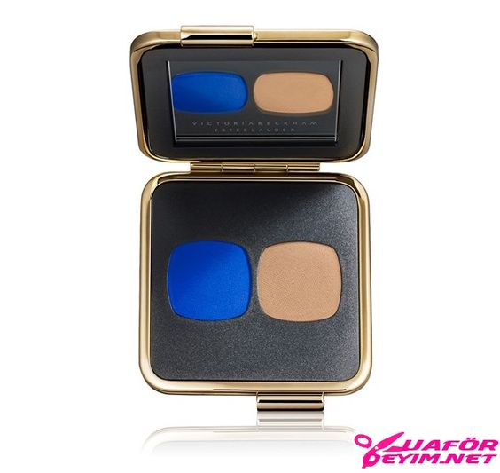 Eye Matte Duo in Bleu Electrique Nude - Far - Nude Tonuna Eşiyletici Mavi Nude