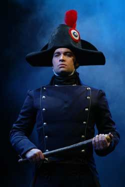 Les Miserables- Hadley Fraser as Javert. This man is an excellent Javert, probably my favorite, although Phillip Quast is a close second.