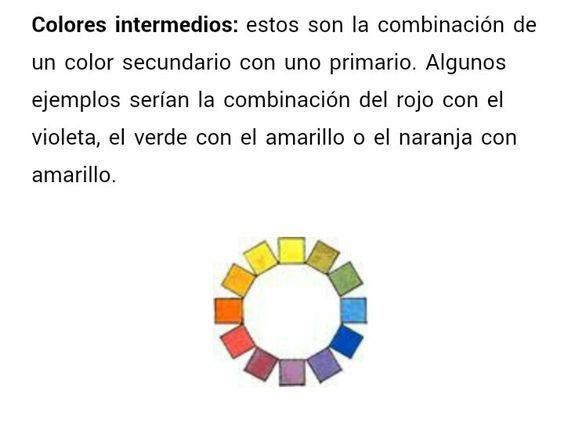 Colores Intermedios