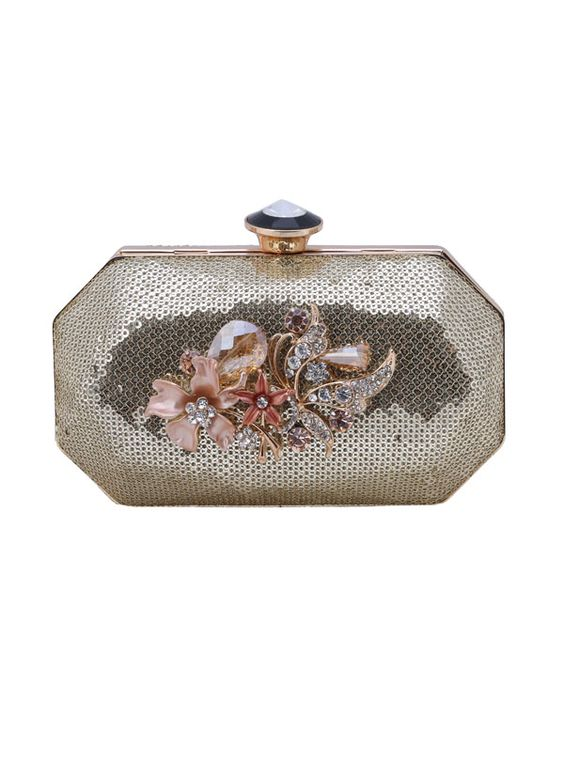 The Purple Sack presents this gorgeous sparkling sequined clutch, now available on http://strandofsilk.com! #indianclutches #indianaccessories #strandofsilk #ThePurpleSack #silver #elegant #chic #specialoccasions #sparkling #indianfashion #handbags #gorgeous #outfit #stylish
