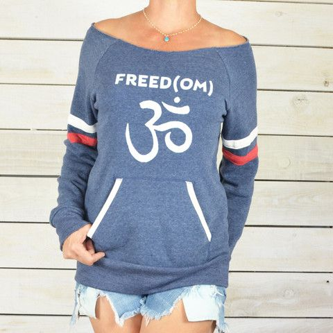 FREED(OM) - Dancer Neck Sporty Sweatshirt – SuperLoveTees   Graphic Tees Inspired By Love