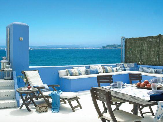 Una casa llena de encanto mars - Decoracion casa playa ...