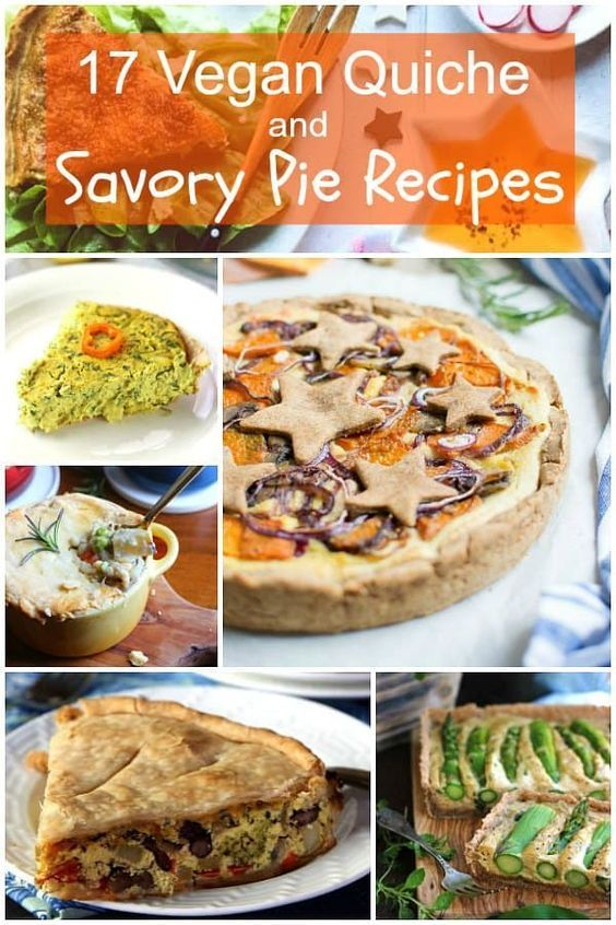 17 Lip Smackingly Good Vegan Quiche Recipes This List Has No Tofu Vegan Quiche Breakfast Vegan Quiche E Savory Pies Recipes Vegan Quiche Quiche Recipes Easy