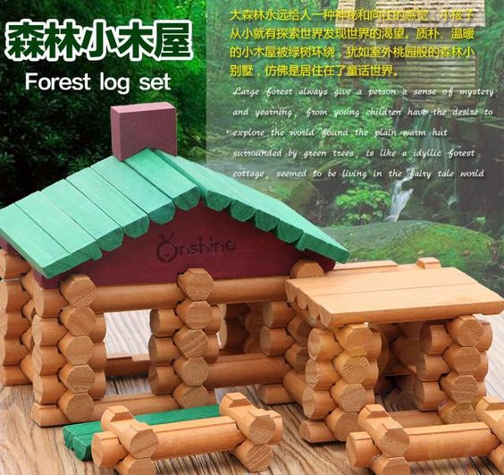 It does not get any sweeter than this.  90 PCs Children B... :-) http://www.sustainthefuture.us/products/90-pcs-children-brand-wooden-cabin-assemble-doll-house-with-2pcs-wooden-dolls-kids-wooden-villa-blocks-for-educational-toys?utm_campaign=social_autopilot&utm_source=pin&utm_medium=pin