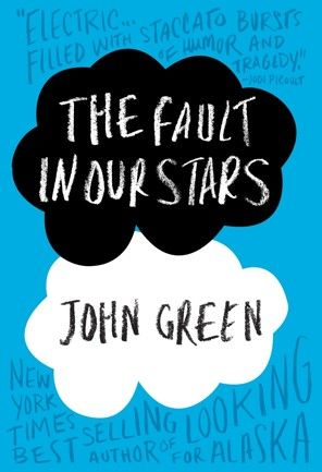 John Green's 'The Fault in Our Stars'    Read it in one sitting last night. And sobbed all the way through.