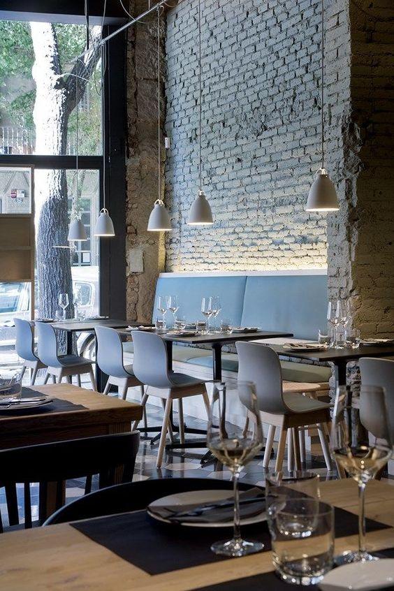 487 best Bars Pubs Restaurant Designs images on Pinterest Snack - innovatives decken design restaurant