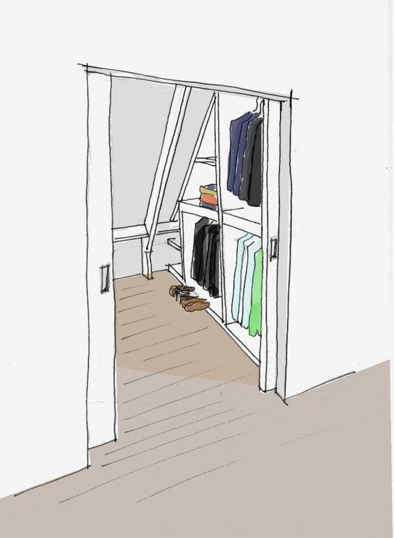 Van zolder tot slaapkamer  5 tips   Tijdschriften, Interieurs en Tips