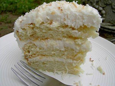 Vegan Coconut Layer Cake