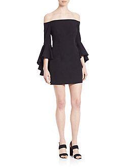 MILLY - Selena Italian Cady Mini Dress