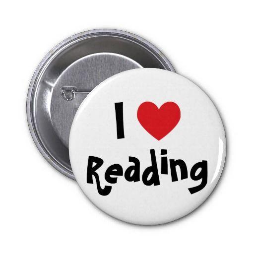 Eu amo ler boton