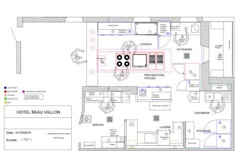 Resultado De Imagen De Cuisine Hotel Plan Arquitectura Hotel Grabado