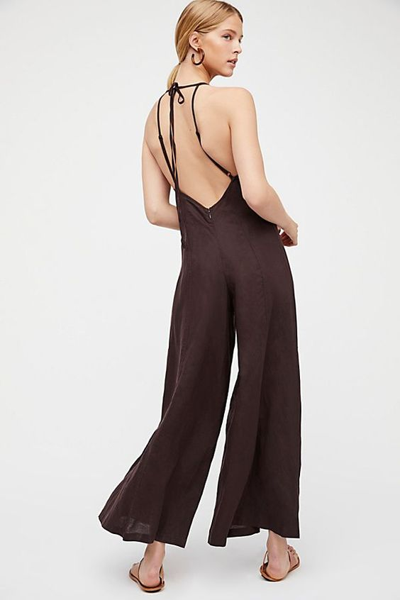 Slide View 2: Black Swan Jumpsuit