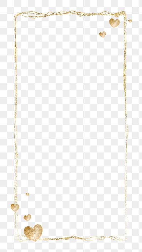 Gold Frame Clean Png Background Free Image By Rawpixel Com Nunny Design Elements Free Illustrations Frame Design