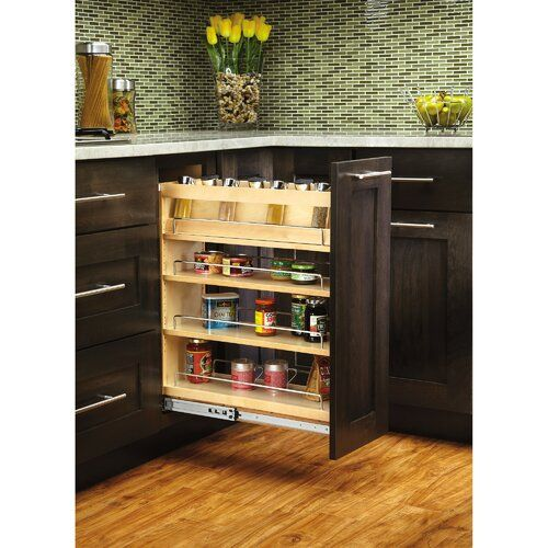 Pull Out Pantry In 2020 Pull Out Pantry Rev A Shelf Adjustable Shelving