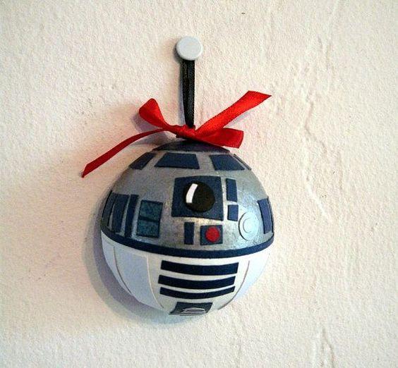 Homemade Christmas Star Ornament: Starwars DIY Christmas Ornaments