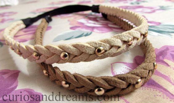 Studded Headbands <3 #headbands #studded #pretty