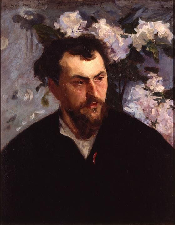 "Sargent's ""Ernest-Ange Duez"" (ca. 1884) from MAM's collection is now on view at @metmuseum as part of #MetSargent."