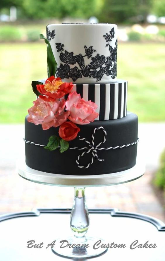 Bold and Bright Birthday Cake by Elisabeth Palatiello