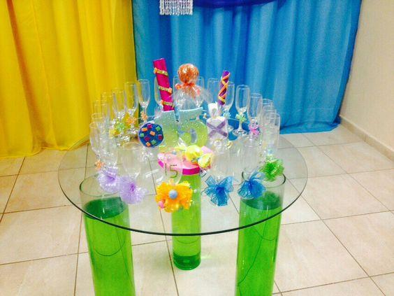 Mesa del brindis