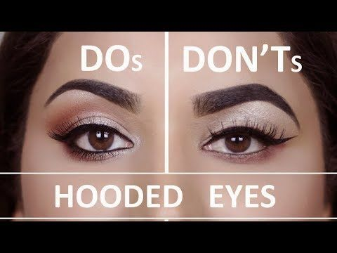 Hooded Droopy Eyes Dos And Don Ts Youtube Makeup For Hooded