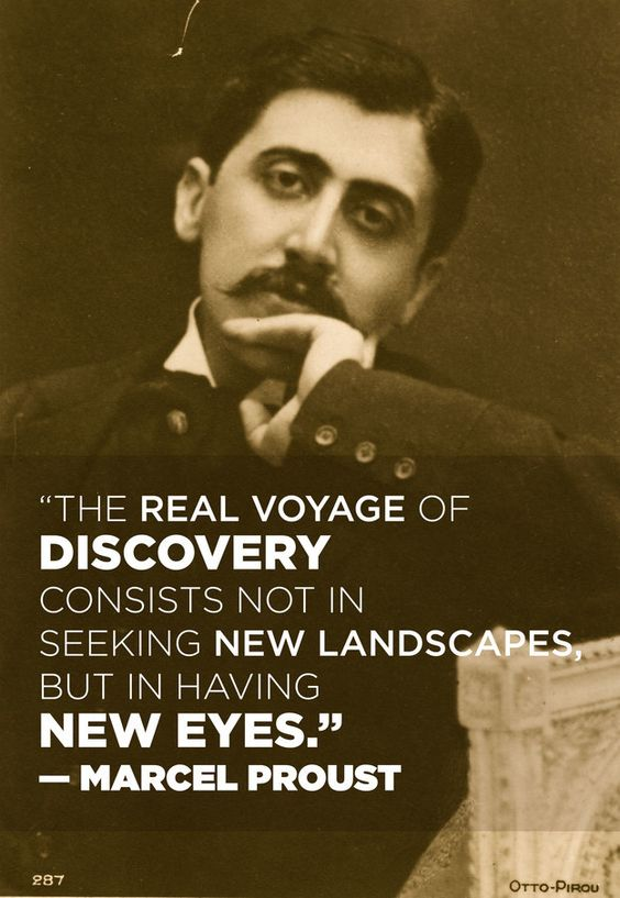 In honor of Proust's 143rd birthday today!