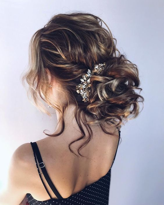Gorgeous updo hairstyle