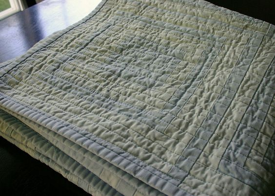 two tone quilt