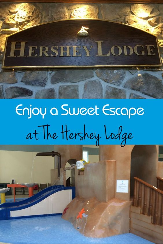 Enjoy a stay at the Hershey Lodge when you visit the Sweetest Place on Earth…