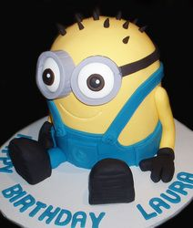 3D Minion Cake - by Nada's Cakes Canberra