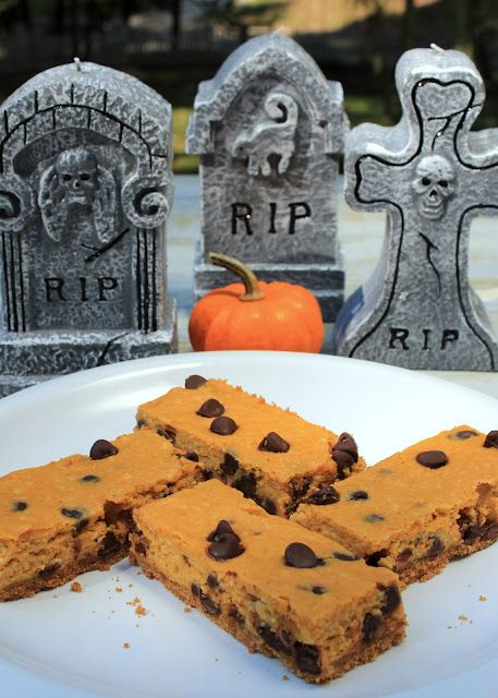 Creamy Chocolate Pumpkin Bars — A Spicy Perspective