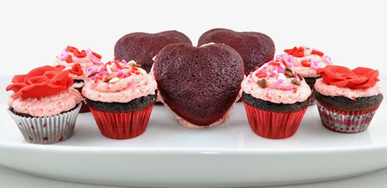 Cherry Whoopie Pie Hearts for Valentine's Day from FoodFamilyFinds.com