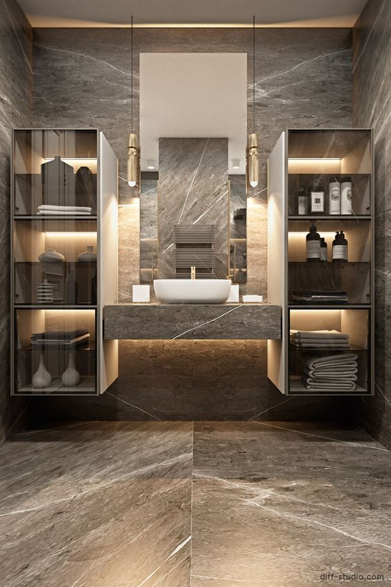 Flat In London Diff 022 Bathroom Lighting Inspiration Modern Bathroom Design Luxury Bathroom