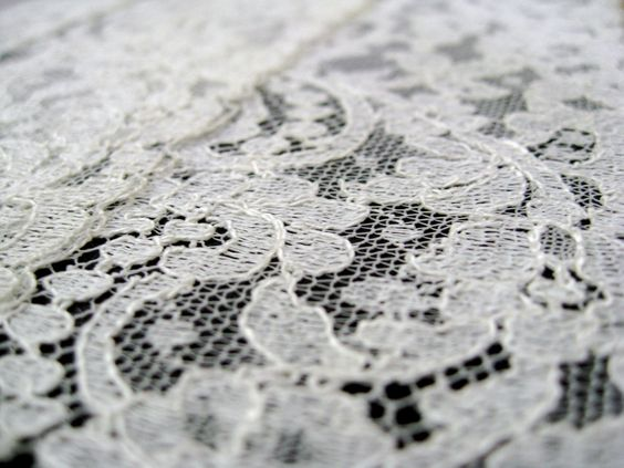 Vintage Lace Hand Bound Journal with Graph Paper