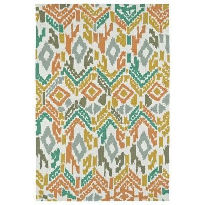Kaleen Habitat Multi 4 ft. x 6 ft. Indoor/Outdoor Area Rug-2109-86-46 - The Home Depot