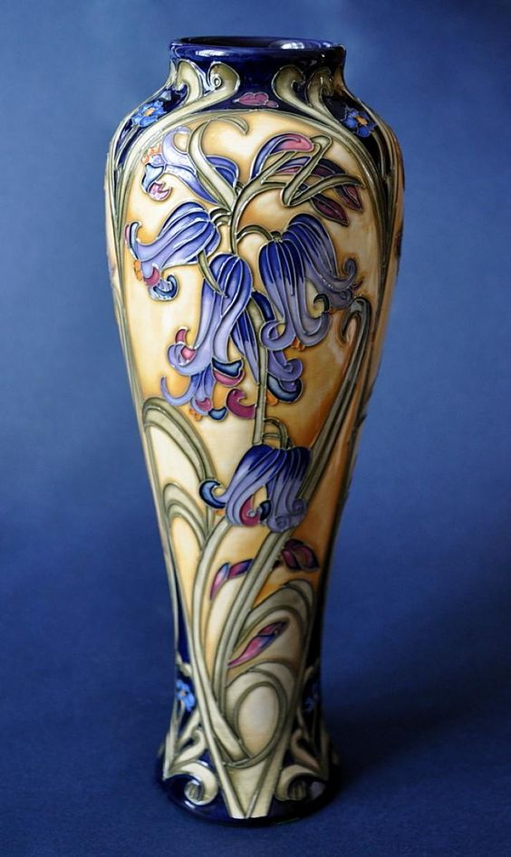 Moorcroft Pottery Lovelock 121/10 Kerry Goodwin http://www.bwthornton.co.uk/moorcroft.php