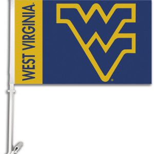 Mountaineers Car Flag