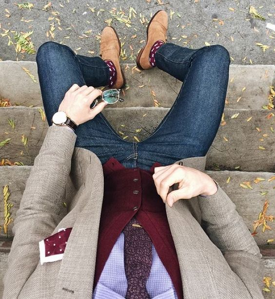 Outfit con jeans - casual   #Imagen #Caballero