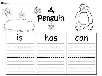 A+ Penguin: Three Graphic Organizers