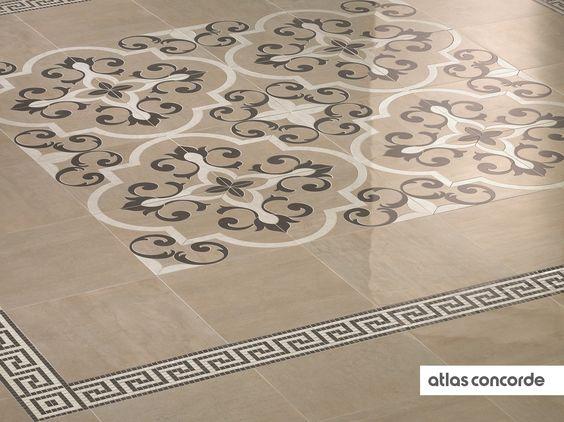 #MARK rosone | #Floor design | #AtlasConcorde | #Tiles | #Ceramic | #PorcelainTiles