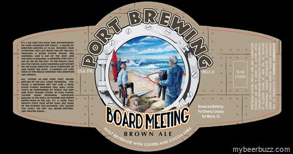 Port Brewing Announces Board Meeting Brown Ale Coming Feb 2013