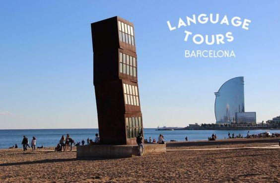 Ya en la guía Barcelona - BCN.info... Language Tours ¡aprende español mientras visitas Barcelona! #recomendado #Spanish #idiomas #Barcelona
