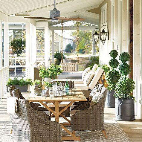 Carter Indoor/Outdoor Ceiling Fan | Outdoor ceiling fans, Ceiling ...